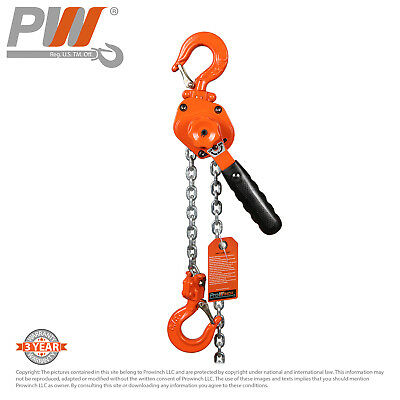 ProWinch Mini Ultra Light Lever Chain Hoist 3/4 ton