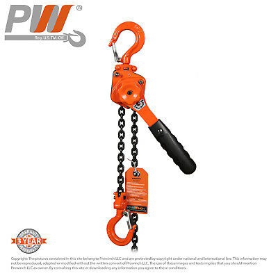 ProWinch Mini Lever Chain Hoist 1/2 ton