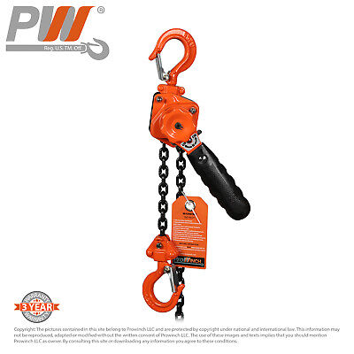 ProWinch Mini Lever Chain Hoist 1/4 ton