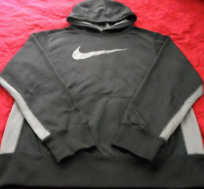 NEW Nike Therma -Fit  Girls ATHLETIC,LEISURE L/S Hoodie BLACK Sz L