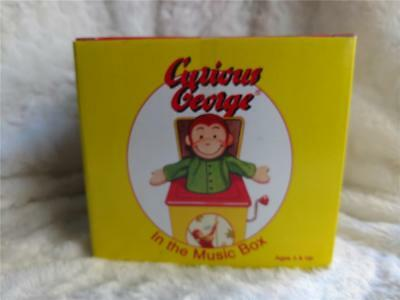 1995 Schylling Curious George Jack in the Box Classic Toy