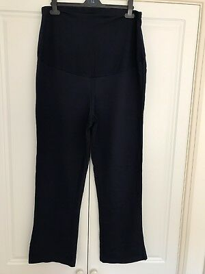 Navy Maternity Joggers Over Bump Size 16 Excellent Condition George Asda