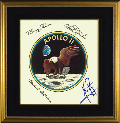 Apollo 11 Crew Neil Armstrong Original Signed Photo Autograph Autogramm Signiert
