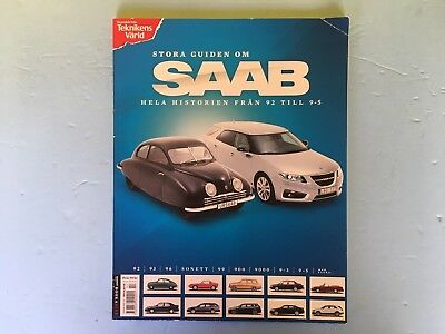 SAAB Store Guide On SAAB Model 92 - 9-5 Imported from Sweden Brand New!!