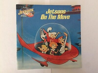 Jetsons On The Move Book - 1990 - Vintage EUC Collectible 90's 90s POP Culture