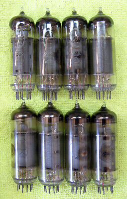 6P14P-K = EL84 = 7189 = 6BQ5 tube  Lot 8 pcs