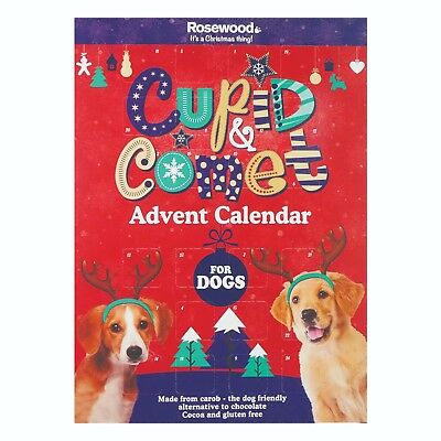 Rosewood Cupid & Comet Pet Advent Calenders For Dogs & Cats Christmas Treats
