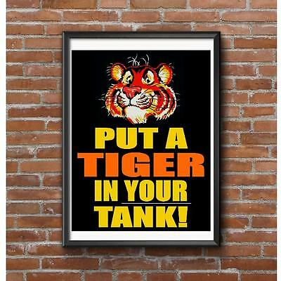 Put A Tiger In Your Tank Poster