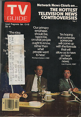 1979 TV Guide The Hottest Television News Controversies Jan. 13-19
