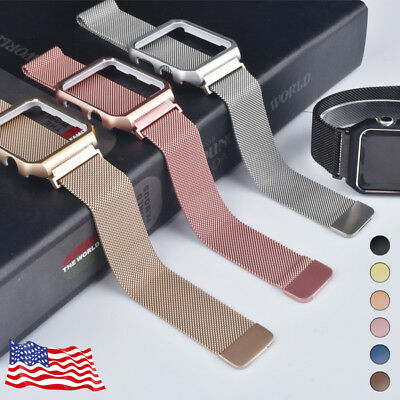 For Apple Watch Series 3/2/1 Milanese Stainless Steel iWatch Band Strap 42 38MM
