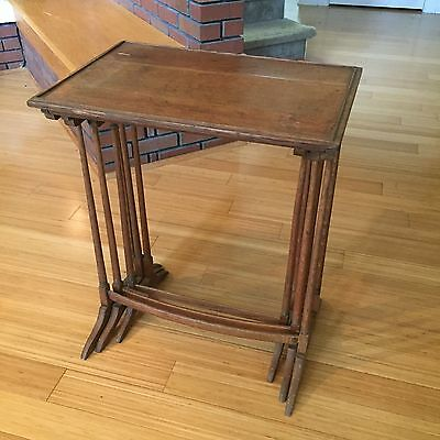 Antique Set of (3) Nesting Tables, 100+ years old (English style)