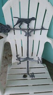 Vintage bird dog weathervane
