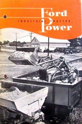 Ford Industrial Tractor Power Sales Brochure