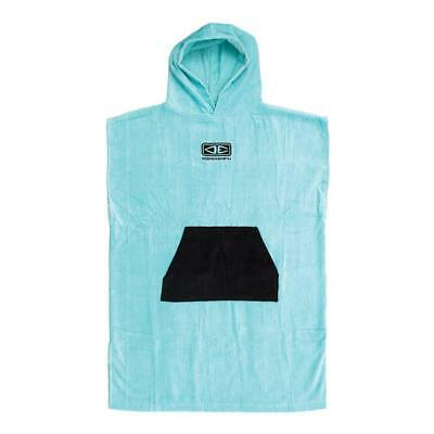 Youth Hooded Surf Poncho - Ice Blue From Ocean & Earth