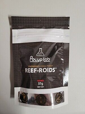 POLYPLAB REEF ROIDS NANO CORAL FOOD AND NUTRITIONAL SUPPLEMENT 30 grams - FISH