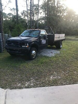 2002 ford f550 flatbed