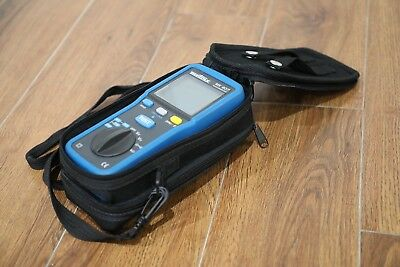 Metrix Megohmeter MX407 / Multimeter NDT Electrical Testing Wires Leads Current