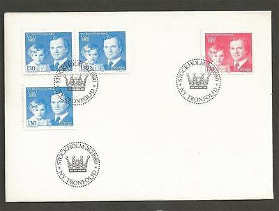 SWEDEN - 1980 New Order of Succession to the Throne  - FIRST DAY COVER