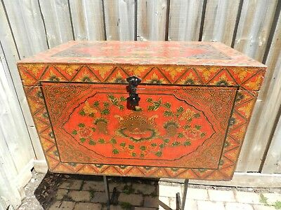 vintage/antique indian ornamental chest