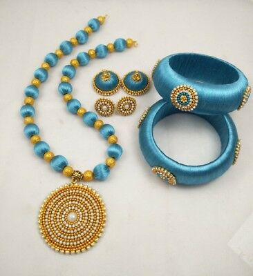Necklace, Bangles And earring