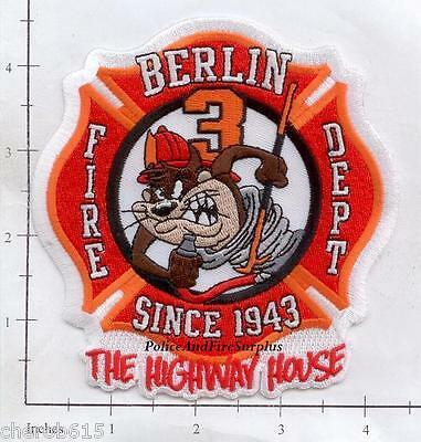 Connecticut - Berlin Station 3 CT Fire Dept Patch - The Highway House