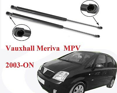 2003-2010 GAS TAILGATE SUPPORT STRUTS GS11 2X FOR VAUXHALL MERIVA MPV
