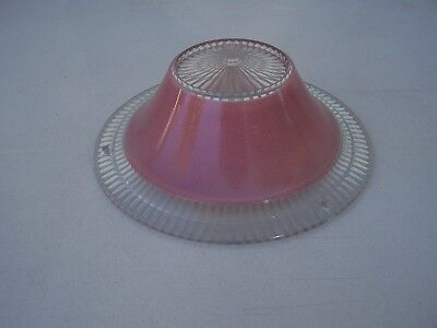 ceiling light Lamp shade fixture ,art deco,antique, vintage ,glass .chandelier
