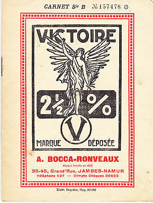 "Carnet De Collection  Timbres Ristournes "" Victoire ""   1931"