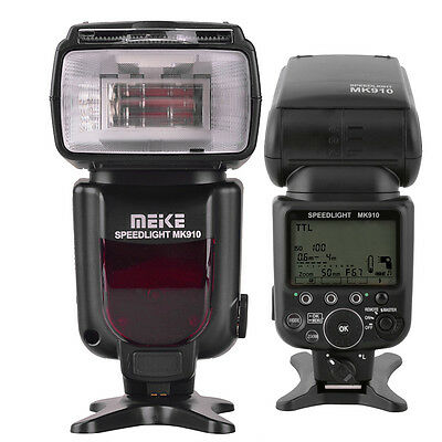 Meike MK-910 I-TTL Flash Speedlight 1/8000s as Nikon SB-910 D4 D800 D800E D7100