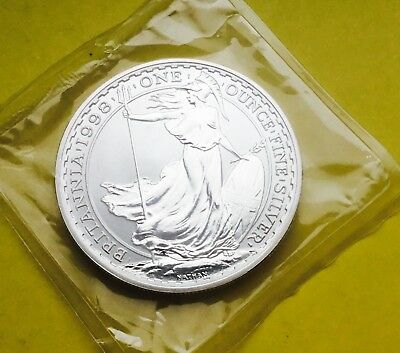 Royal Mint 1998 Britannia 1 oz  Silver Proof  £2 coin / sealed packet.