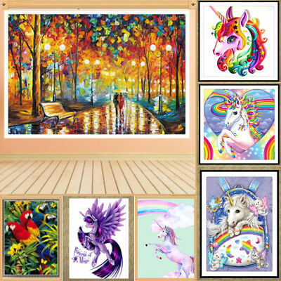 UK DIY 5D Diamond Painting Embroidery Cross Craft Stitch Art Kit Wall Decor New