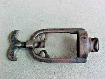 Antique Cast Iron Water Well Pump Hose Adapter Attachment 512 N