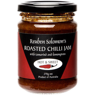 NEW Reuben Solomon Roasted Chilli Jam