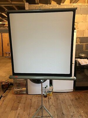 Vintage JOHNSONS of HENDON LUXOR Projector Screen