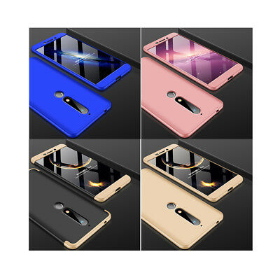 Ultra thin Slim Hard Full Protective Case Cover For Nokia 7 Plus / 6.1 / 6  2018
