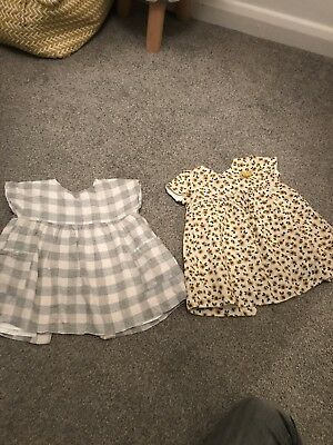 Baby Girl Zara Dress Bundle Age 12-18 Months