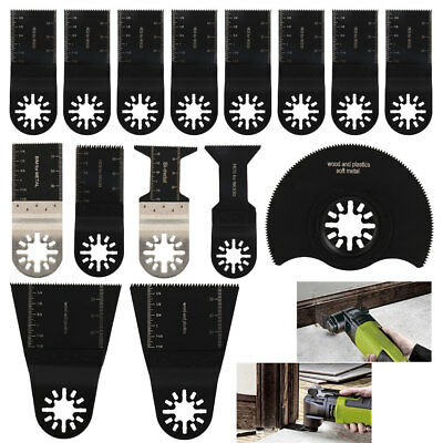 15Pcs Oscillating Multi Tool Saw Blades for Fein Multimaster Bosch Milwaukee