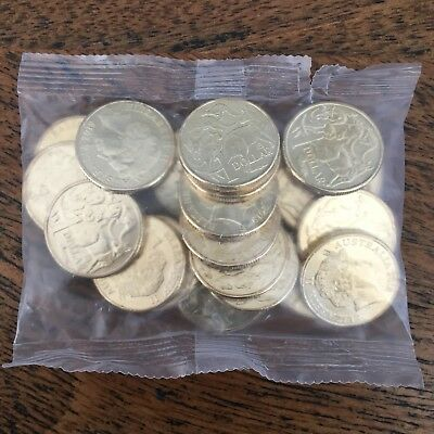 2018/2019 Australia $1 One Dollar Coins - A / U / S Privy Mark Security Bag UNC