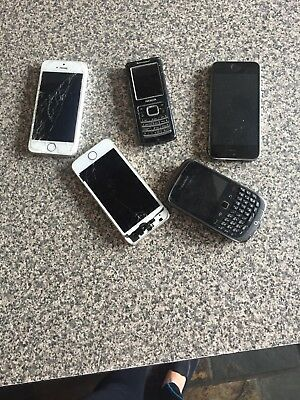 Job Lot Of Broken Phones