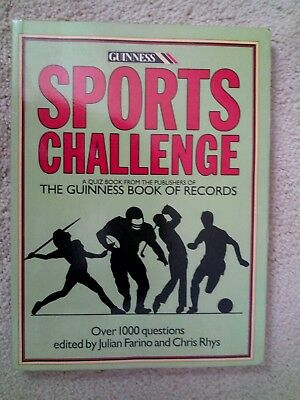 Sports Challenge- Quiz Book - Over 1000 Questions