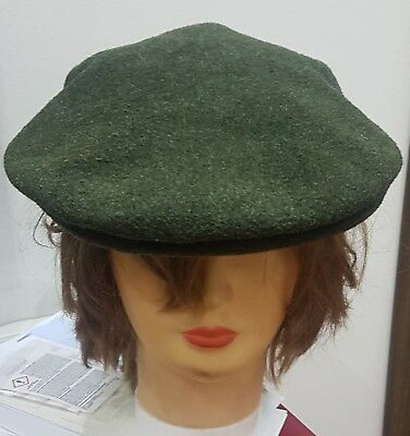 Burberry basco Cappello Vintage Burberry's hat wool tweed made in England