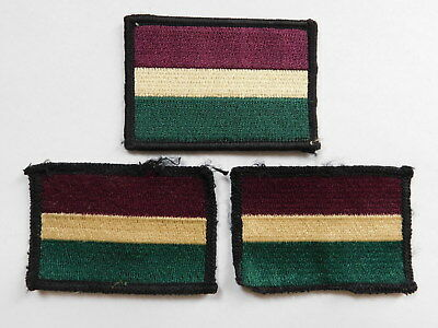 British army Royal dragoon Guards  TRFs patches/badges