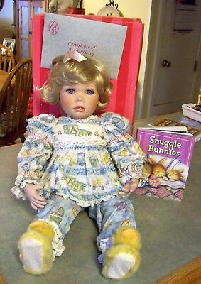 "Marie Osmond ""bedtime Stories"" Doll Full Size"