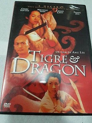 "DVD,""TIGRE ET DRAGON"",chow yun fat,michelle yeoh,etc"