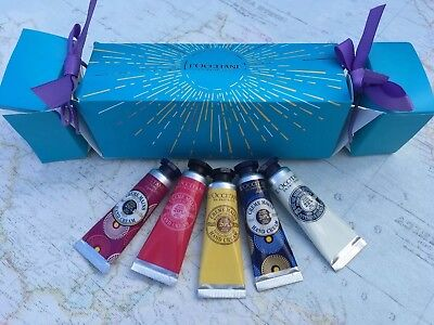 L'Occitane Gift Set With 5 10 Ml Hand Cremes