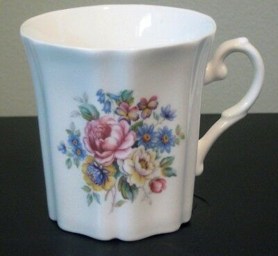 Royal Grafton 8 oz Coffee Mug Multi-Colored Floral England