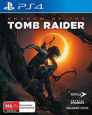 Shadow of the Tomb Raider PS4 Game Brand New & Sealed **Free Express Postage**