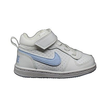 new products 607a0 0e56e NIKE COURT BOROUGH MILIEU TDV BLANC Baskets Enfant Sport Chaussures 870032  103