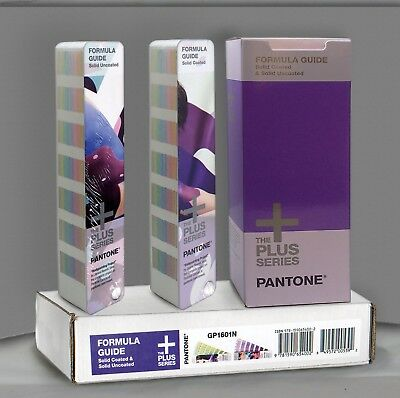 GP1601N - Pantone Formula Guide Solid COATED & UNCOATED you get books in picture