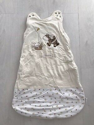 Grow Bag Sleeping Bag Mamas And Papas Zeddy & Parsnip Yellow 2.5tog 0-6 Months